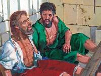 Paul et Silas en prison