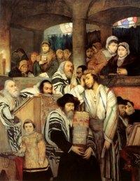 Paul et Barnabée dans la synagogue
