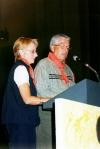 Gérald et Suzette Roy, responsables au national