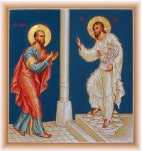 Paul rencontre le Christ (icone)