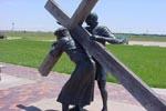 Station 2: Jésus est chargé de sa croix