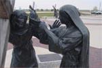 Station 6: Véronique essuie la face de Jésus