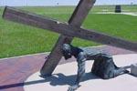 Station 7: Jésus tombe pour la 2ème fois
