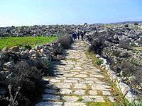 voie romaine près de Tarse