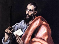 saint Paul, par El Greco