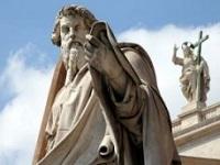 Statue de saint Paul au Vatican
